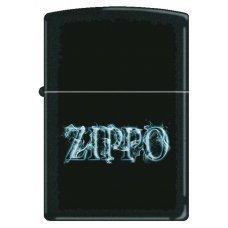 Зажигалка ZIPPO с покрытием Black Matte, латунь/сталь, чёрная, матовая, 36x12x56 мм 218 SMOKING ZIPPO