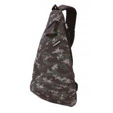 Рюкзак WENGER с одним плечевым ремнем, камуфляж, полиэстер, 900D, 45х25х15 см, 7 л 2310600550