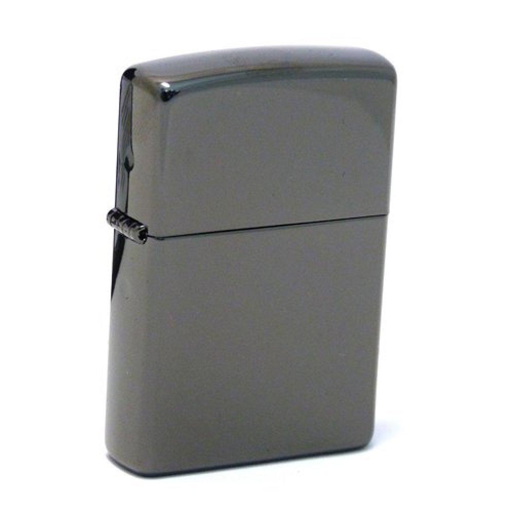Зажигалка ZIPPO Classic с покрытием Ebony™, латунь/сталь, чёрная, глянцевая, 36x12x56 мм 24756 Ebony