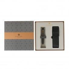 Подарочный набор Cross: шариковая ручка Cross Century II Classic Black с чехлом на две ручки 2502WG/287