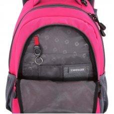 Рюкзак WENGER, розовый/серый, полиэстер 600D/420D, 32x15x45 см, 22 л 3020804408-2