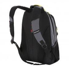 Рюкзак WENGER, серый/лаймовый, фьюжн/2 мм рипстоп, 32x15x46 см, 22 л 3165426408-2
