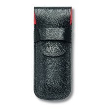 Чехол VICTORINOX для ножей 84 мм толщиной до 3 уровней, кожаный, чёрный 4.0669