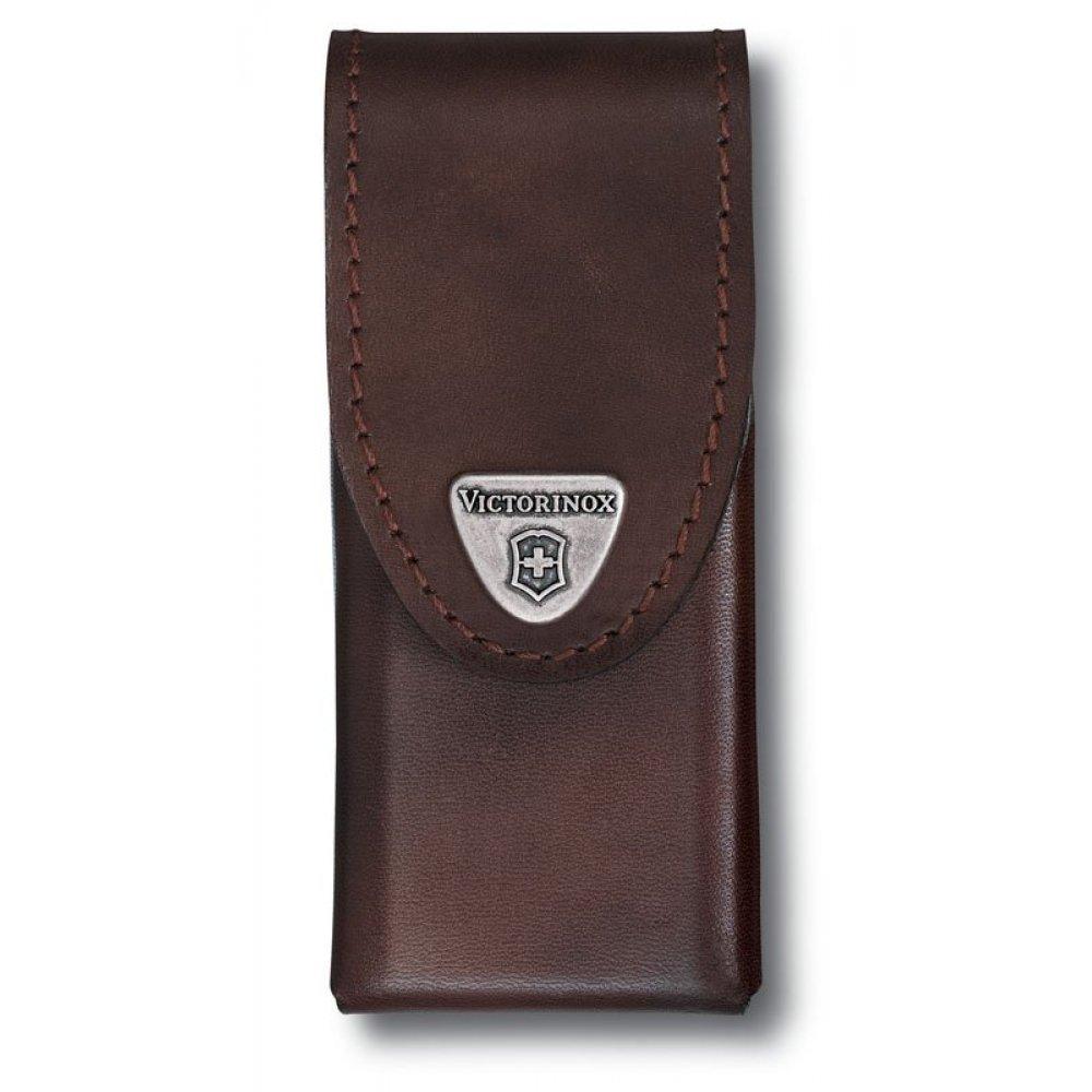 Чехол на ремень VICTORINOX для мультитулов SwissTool Spirit Plus, кожаный, коричневый 4.0832.L
