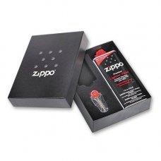 Подарочная коробка Zippo (кремни + топливо, 125 мл + место для широкой зажигалки), 118х43х145 мм 50R