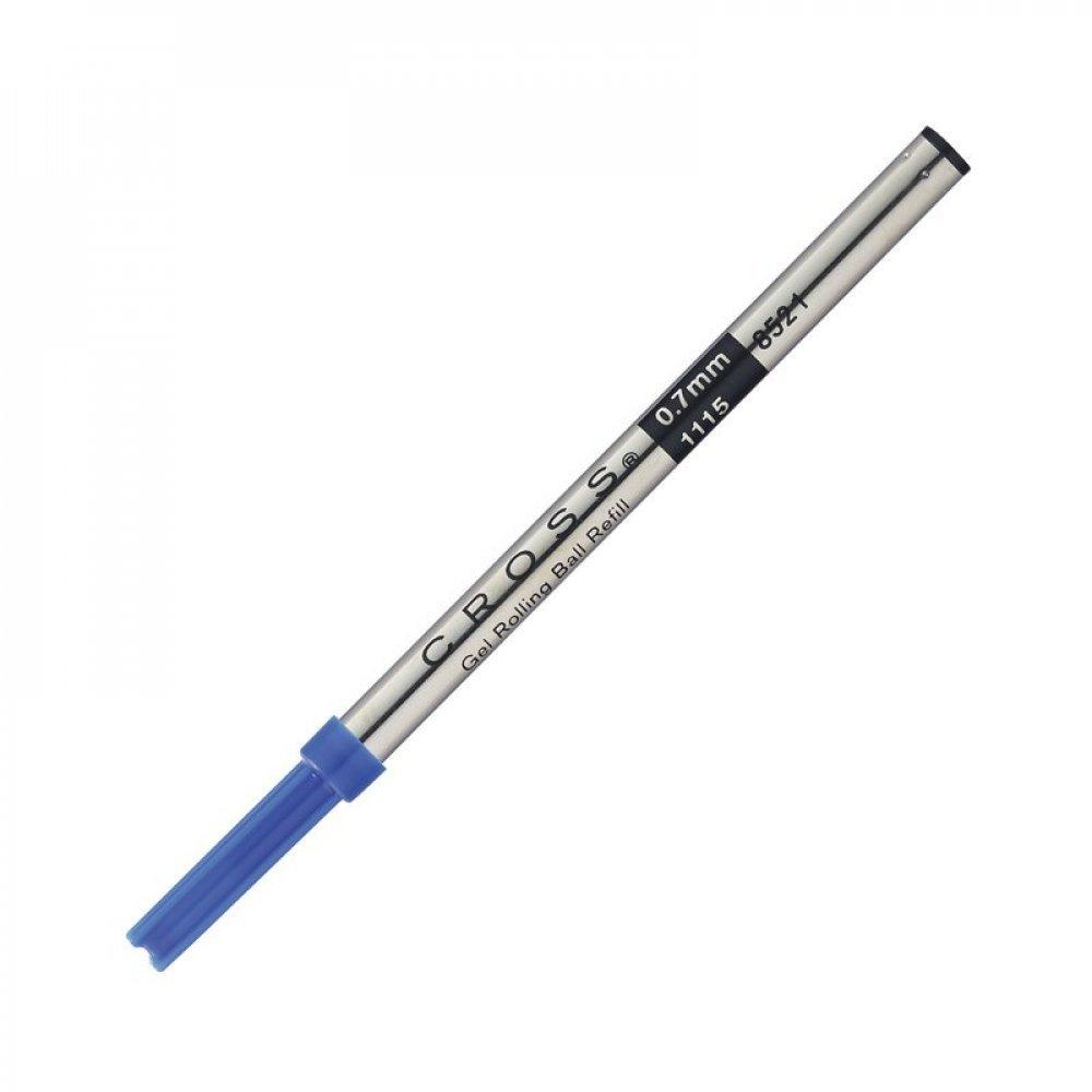 Стержень Cross для ручки-роллера стандартный, средний, синий; блистер 8521 blue