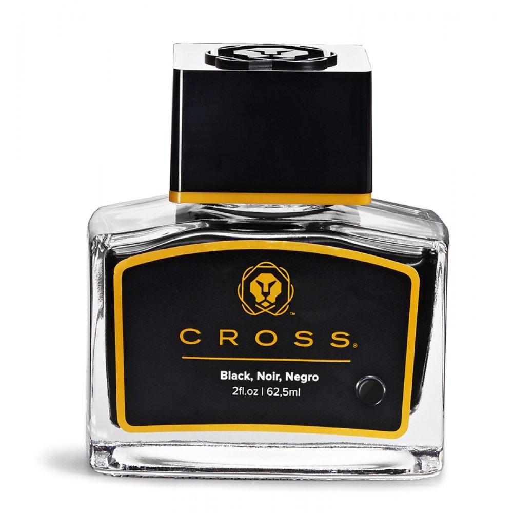 Флакон с чернилами Cross для перьевой ручки, черный, 62.5 мл 8945S-2 black