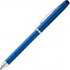 Многофункциональная ручка Cross Tech3+. Цвет - синий.