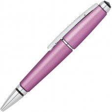 Ручка-роллер Cross Edge без колпачка. Цвет - розовый. AT0555-6