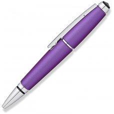 Ручка-роллер Cross Edge без колпачка. Цвет - фиолетовый. AT0555-9