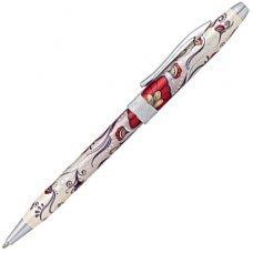 Шариковая ручка Cross Botanica. Цвет - Красная Колибри. AT0642-3
