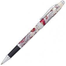 Ручка-роллер Selectip Cross Botanica. Цвет - Красная Колибри. AT0645-3