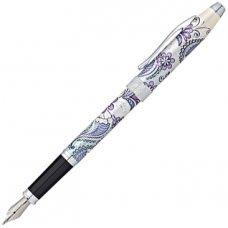 Перьевая ручка Cross Botanica. Цвет - Сиреневая Орхидея. AT0646-2FS