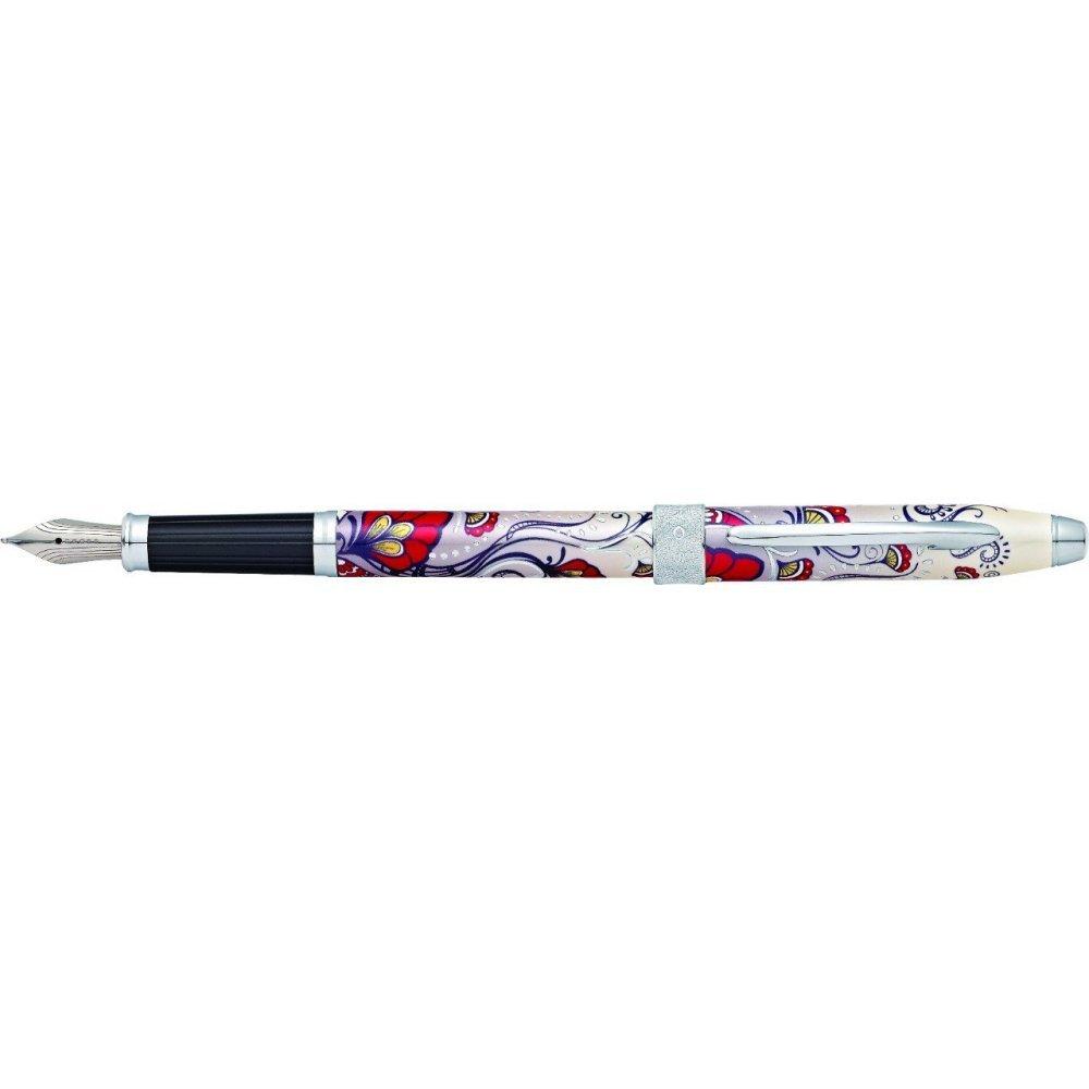 Перьевая ручка Cross Botanica. Цвет - Красная Колибри. AT0646-3FS