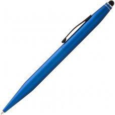 Шариковая ручка Cross Tech2 со стилусом 6мм. Цвет - синий. AT0652-6