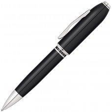 Шариковая ручка Cross Peerless 125. Цвет - черный/платина AT0702-1