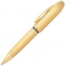 Шариковая ручка Cross Peerless 125. Цвет - золотистый AT0702-4