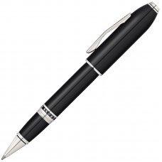 Ручка-роллер Selectip Cross Peerless 125. Цвет - черный/платина AT0705-1