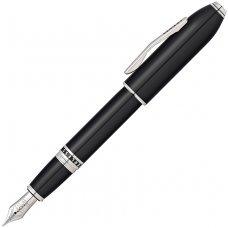 Перьевая ручка Cross Peerless 125. Цвет - черный/платина, перо - золото 18К/родий AT0706-1FY
