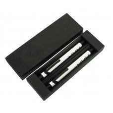 Набор Pierre Cardin PEN&PEN: ручка шарик. + механич. карандаш. Цвет - белый. Упаковка Е-3n