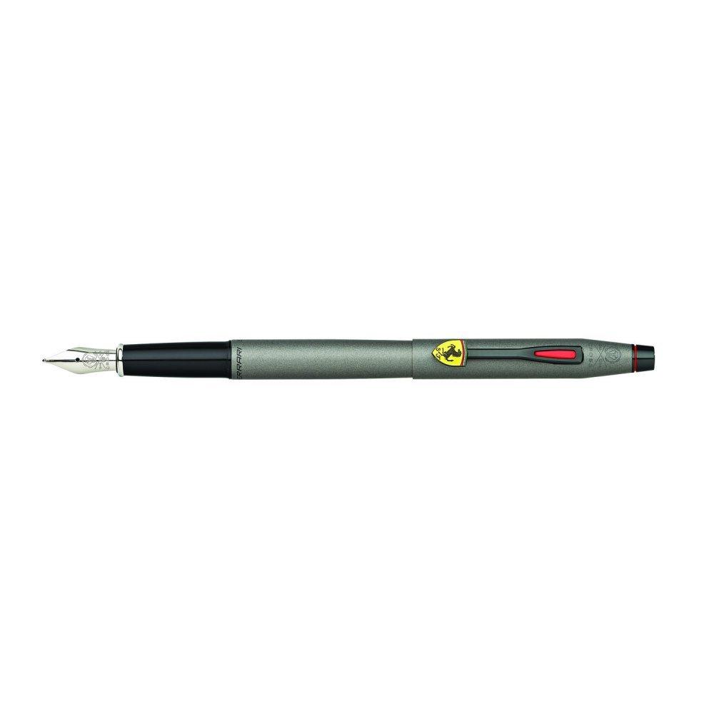 Перьевая ручка Cross Classic Century Ferrari Gray Satin Lacquer, перо тонкое F FR0086-128FS