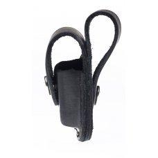 Чехол ZIPPO для широкой зажигалки, с петлёй, натуральная кожа, чёрный LPLBK