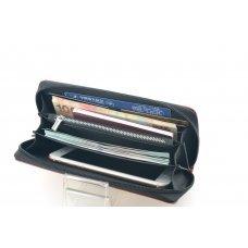 Кошелек Pierre Cardin с рower bank, коричневый, 20.5 х 11.0 х 3.0 см