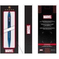 Шариковая ручка со стилусом Cross Tech2 Marvel Железный Человек. Цвет - красный AT0652SD-11