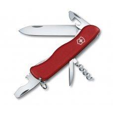 Нож Victorinox Picknicker 0.8353.B1 красный в блистере 0.8353.B1