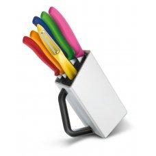 Подставка для ножей малая, белая 7.7031.07 7.7031.07