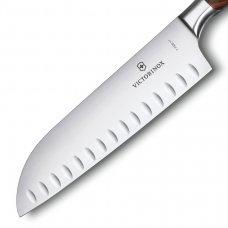 Кованый нож Victorinox Grand maitre Rosewood Santoku 7.7320.17G в подарочной упаковке 7.7320.17G