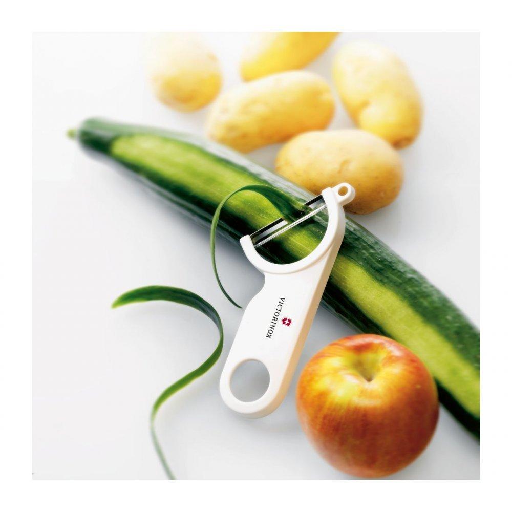 Нож для чистки овощей Victorinox 7.6073.7 Swiss Peeler белый 7.6073.7