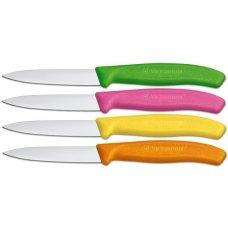 Кухонный нож Victorinox 6.7606.L115, 8 см., розовый 6.7606.L115
