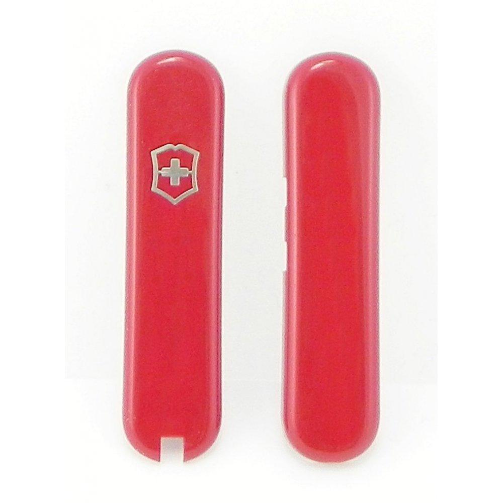 Комплект накладок Victorinox к ножу 58 мм C.6225 красный с ручкой C.6225
