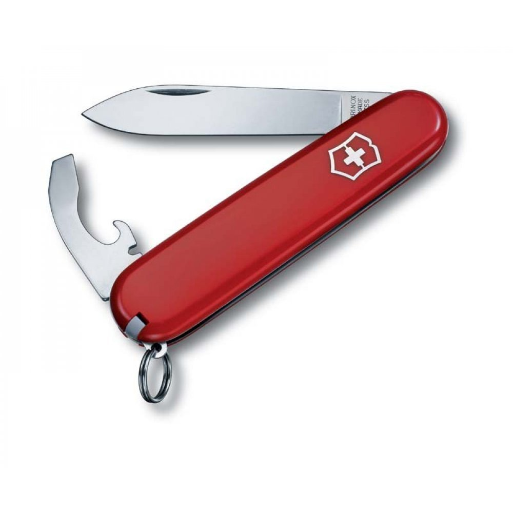 Нож VICTORINOX Bantam, 84 мм, 8 функций, красный 0.2303