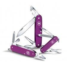 Нож VICTORINOX Cadet Alox, 84 мм, 9 функций, алюминиевая рукоять, фиолетовый 0.2601.L16