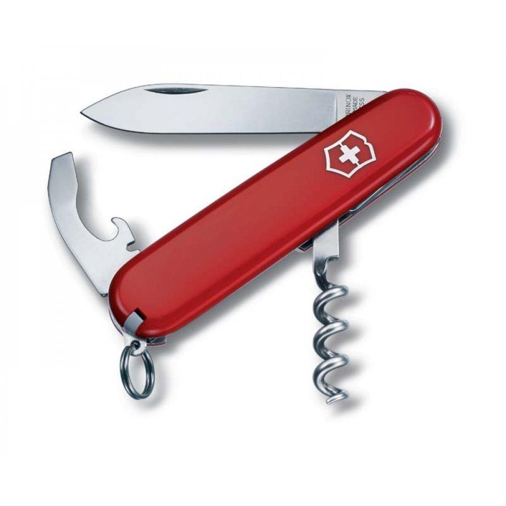 Нож VICTORINOX Waiter, 84 мм, 9 функций, красный 0.3303