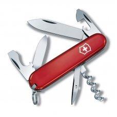 Нож VICTORINOX Tourist, 84 мм, 12 функций, красный 0.3603