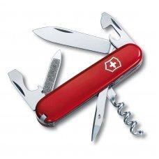 Нож VICTORINOX Sportsman, 84 мм, 12 функций, красный 0.3802