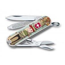 Нож-брелок VICTORINOX Classic Wilhelm Tell, 58 мм, 7 функций 0.6223.L1609