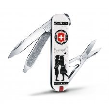 Нож-брелок VICTORINOX Classic Alps Love, 58 мм, 7 функций 0.6223.L1801