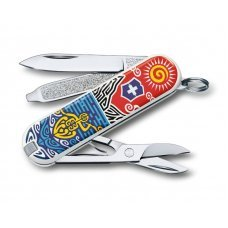 Нож-брелок VICTORINOX Classic New Zealand, 58 мм, 7 функций 0.6223.L1806