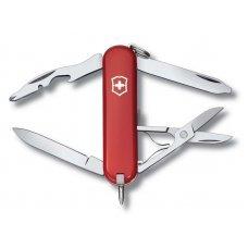Нож-брелок VICTORINOX Manager, 58 мм, 10 функций, красный 0.6365