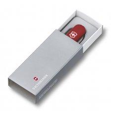 Нож-брелок VICTORINOX Midnight Mini Champ, 58 мм, 17 функций, красный 0.6386