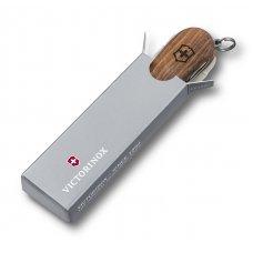 Нож-брелок VICTORINOX NailClip Wood 580, 65 мм, 6 функций, деревянная рукоять 0.6461.63