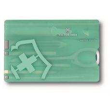 Швейцарская карточка VICTORINOX Classic Fresh Energy SE 2020, 10 функций, мятный цвет