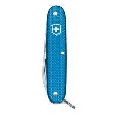 Нож VICTORINOX Pioneer, 93 мм, 8 функций, алюминиевая рукоять, синий