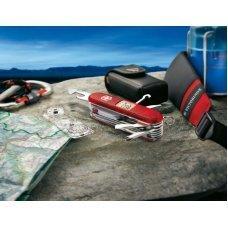 Набор VICTORINOX Expedition Kit: нож, чехол, линейка, компас, лупа, термометр, уровень, точилка