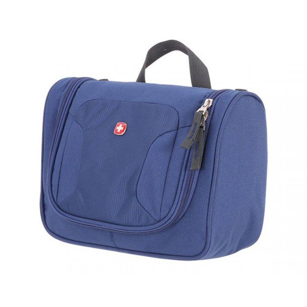Несессер WENGER TOILETRY KIT,  дорожный, синий, полиэстер, 27х11х22 см 1092343002