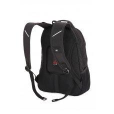 "Рюкзак WENGER, 15"", чёрный/красный, полиэстер, 35х20х47 см, 33 л 1178215"